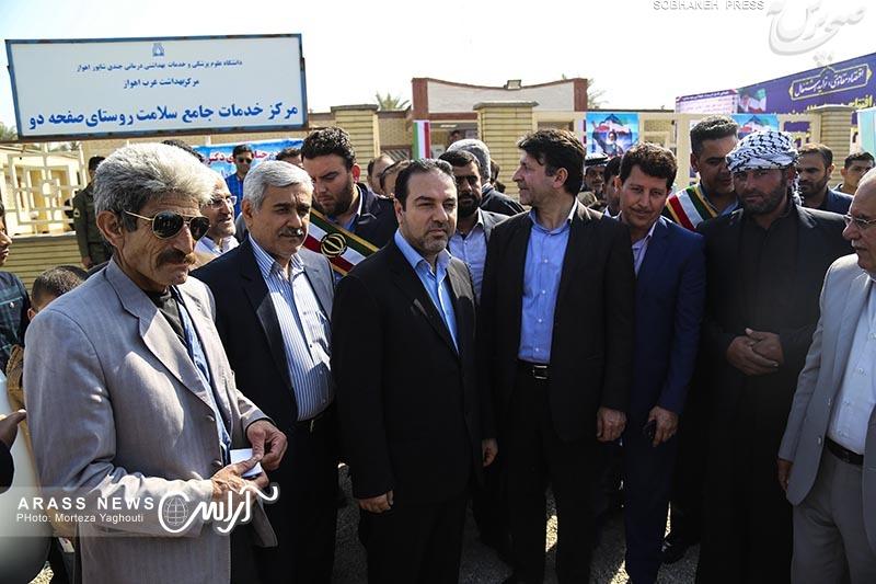 گزارش تصویری / افتتاح 17 پروژه بهداشتی دانشگاه علوم پزشکی اهواز با حضور معاون وزیر بهداشت