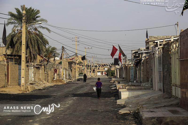 بازدید میدانی شهردار منطقه سه اهواز از محلات و پروژه های عمرانی سطح منطقه