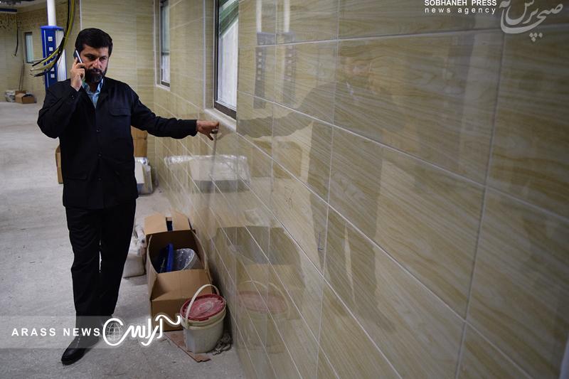 گزارش تصویری/ بازدید استاندار خوزستان از ساختمان جدید بیمارستان جدید ابوذر و بیمارستان سوانح سوختگی اهواز